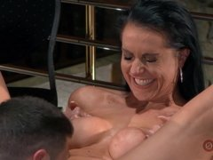 HITZEFREI German MILF fucked hard by a younger man