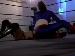 WWE Divas Match Thong Slip (SmackDown Live)