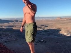 Outdoor Fucking, Sucking and smoking in Red Rock Canyon mountains