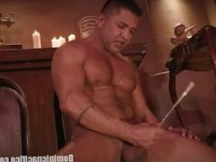 """Dominic Pacifico is a Priest """"Possessed"""" and Sounding His Big Cock"""