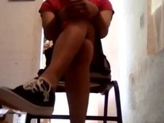 Shoeplay with Double Crossed Legs Syntribation