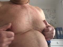 Rough breast play