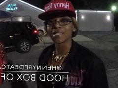 Henny Red in blue flame Strip Club! Chris Brown or Tyga wil