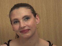 Oceane cougar debutante francaise en casting