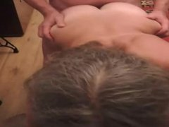 Wife with hubby and friend. pt2