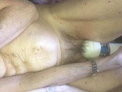 Long Vibe and Orgasm Session with Horny Wife