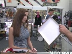 XXX PAWN - Desperate Babe Naomi Alice Gets Fucked In A Pawn Shop For Quick