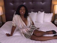 Curvy Ebony Milf Has All Natural Big Black Tits in her first HD Fuck Film!