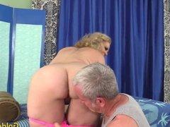 Sensual Massage for Mature Blonde Summer