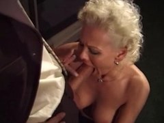 Blonde milf and a big cock