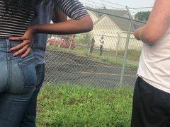 Ebony Bubble Ass In Jeans