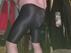 Spandex and diapered as well