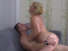 Mature mothers fucked by young stupid sons