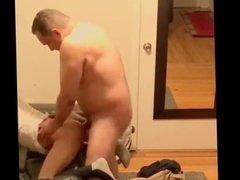 Bull dad with big dick fucking a boy