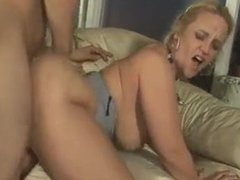 Sex with a mature blonde