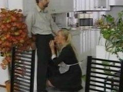 French Maid - Anal Sex In Kitchen - pornrani.com