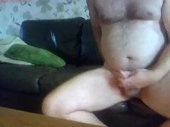 Grandpa-Daddy Cumming on Cam 5