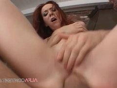 Hard anal fuck is what redhead MILF needs the most