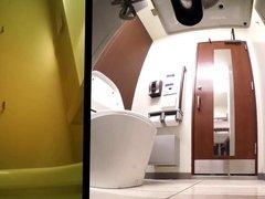 Japanese toilet Hidden cam