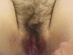 Cuckold Husband Rubs His Dick In Another Mans Creampie
