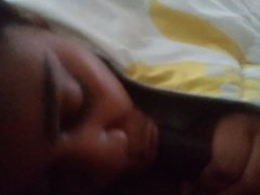 Wife sucking cock early morning