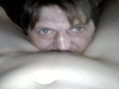 My  wife orders me lick her pussy after sex with her lover