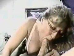 mom in glasses sucks cock 2