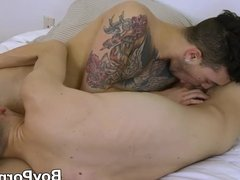 Young lovers enjoy having anal sex before both cumshot