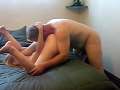 Husband Filming His Naughty Cheating WIfe With Old Man