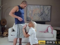 My stepmom let me ass fuck her - Brazzers