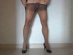 Pantyhose and nylon socks