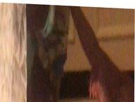 GILF MILF WIFE JAN IN HER PINK PANTIES UNAWARE #36