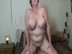 huge tits mature blow and fuck
