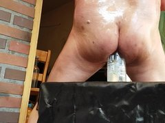 DURTYFARDENBIY TOP VIEW OILED ASS RAINBOW SISSY PYRAMIDE ASS