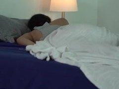 Brother abuses sleeping sister