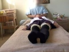 Horny Teen Geting A Parlour Japanese Massage Spycam