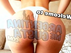 Most INCREDIBLE BODY Latina Teen! Ass Perfection and Camelto