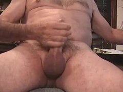 Cum with Sound in Cock