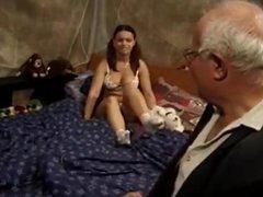 67 Years Old Steel Grandpa Fucks 23 Year Old Babe