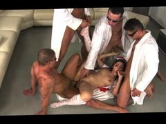 Gangbang E xtreme  Brutal Sex Must See