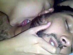 Malaysian Girl Licking Indian Man , She Loves Him