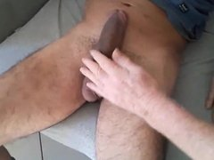 The Pleasure of Holding His COCK
