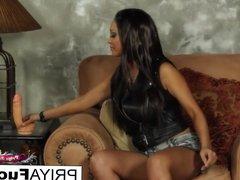 Sybian action with Indian beauty Priya Rai