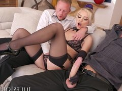 Jules Jordan - Alex Grey Double Penetration