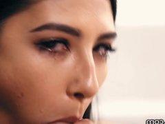 THROATED Gianna Dior Takes it Down Deep & Sloppy
