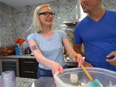 Real Teens - Alice Pink Fucked In Kitchen During Casting