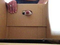Cumshot in a box