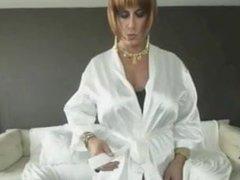 Big Tit Sissy in Corset