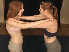 #28 Out of Line! Monroe vs Lillian - Real Female Wrestling