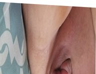 Her dildo in wet pussy, big clit